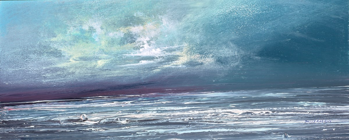 The Sky After the Storm III by philip raskin -  sized 16x7 inches. Available from Whitewall Galleries